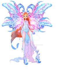 DeviantArt: More Like Com: Sera Livix Fairy by Fire Fairy, Les Winx, Bloom Winx Club, My Little Pony Drawing, Club Design, Cartoon Pics, Anime Outfits, Kawaii Anime, Witch