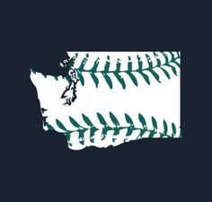 Washington baseball tshirt Seattle Mariners colors Buy by watatees, $14.99