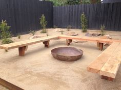 46 cozy outdoor fire pit seating design ideas for backyard backyard design diy ideas Fire Pit Bench, Fire Pit Seating, Fire Pit Area, Diy Fire Pit, Cozy Backyard, Backyard Seating, Fire Pit Backyard, Outdoor Seating, Backyard Ideas