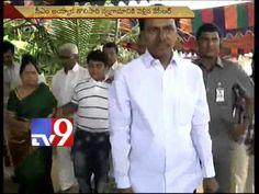 KCR casts vote in Chintamadaka
