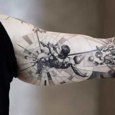 Do you want some unique tattoo ideas? These unique tattoos are sure to inspire your imagination. Neue Tattoos, Body Art Tattoos, Small Tattoos, Tattoos For Guys, Tatoos, Icarus Tattoo, Arm Tattoo, Sleeve Tattoos, Design Tattoo