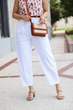 Linen Work Pant Summer Style - Oh What A Sight To See White Pants, Black Pants, Summer Work Wear, Keep My Cool, Summer Fashion Outfits, Linen Pants, Work Pants, Orange Color, How To Wear