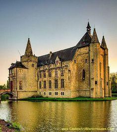 Laarne Castle, Laarne, East Flanders, Belgium