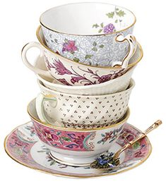 Vintage tableware by Vintage Touch, perfect for madhatter tea party or vintage feel wedding.