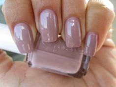 Lady Like - from Essie's fall collection.  Such a lovely dusty rose.  My manicure workhorse.