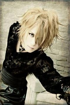 Kamijo from the band Versailles-Yes, he's a man. Yes, you can judge me. lol