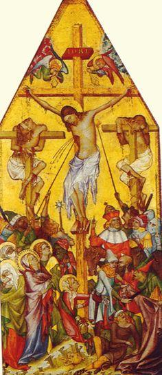 Master of the Kaufmann Crucifixion (detail)  c. 1340  Berlin, Gemaldedalerie