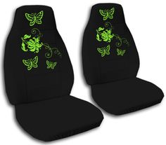 Universal Fit Cute Girly Car Seat Covers | Decorative Plush Seat ...