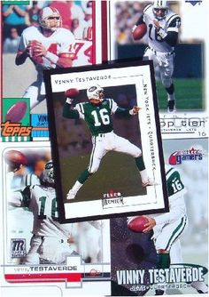 Vinny Testaverde 20-card set with 2-piece acrylic case [Misc.] by Innovations. $17.95. Now you don't have to keep opening pack after pack looking for your favorite stars. The cards pictured are similar to the cards in your set. All cards in near mint/mint condition.  We often include premium issues and inserts.  The cards are protected in a clear plastic box, perfect for stacking and storage.