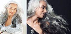 Hon är 59 år gammal, har två barnbarn och jobbar som fotomodell. Vilken häftig kvinna!