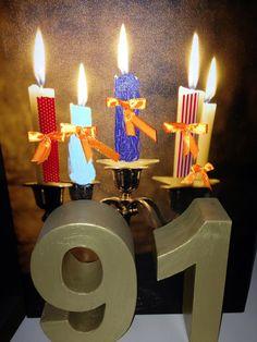 91e verjaardag Marinus.