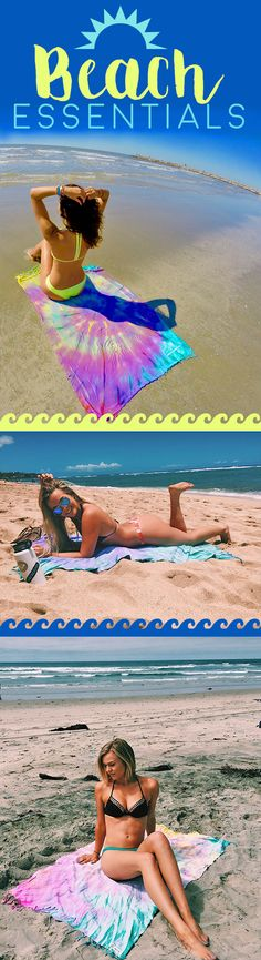 """I Am Obsessed With This Towel! I Even Use It As A Blanket, It's so soft! ♥ Everyone Is Always Asking Where I Got It So I Figured I'd Share! The perfect beach towel for your summer adventures. Save 20% on your first purchase with the """"STYLE20"""" discount code."""