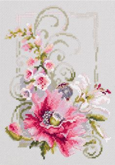 Magic Needle Counted cross stitch kit Entrance to the Garden 23 x 34cm
