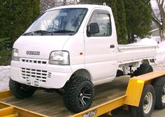 suzuki carry 4x4 - Google Search Mini Trucks, Pickup Trucks, Suzuki Every, Mini Jeep, Suzuki Cars, Jeep 4x4, Japanese Cars, Cars And Motorcycles, Cool Cars