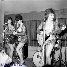 "vintage girl bands | RARE Ladybirds All Girl Topless Band 2 25"" Vintage Orig Nude Negative ..."