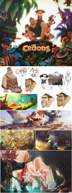 """""""The Art of The Croods"""" reviewed over at The Last Outpost."""