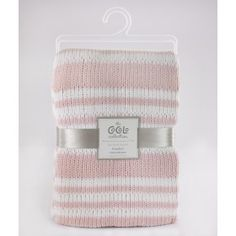 Cocalo - Chenille  Blanket - Petal Pink