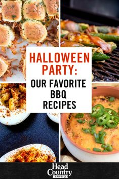 Deviled eggs, mummy jalapenos, & monster sliders, oh my! Check out Head Country's blog for easy Halloween party appetizers. If you love a great shindig but are not into the holiday these are the best appetizers for BBQ party.