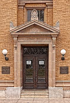 Tucson Scottish Rite Cathedral, a Masonic Temple, by Jim Purcell