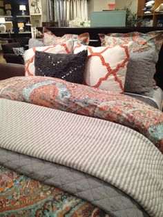 Pottery Barn Paloma Paisley....in love with this look.