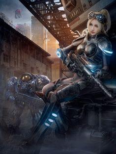 Cosplay-da-Nova-Heroes-of-The-Storm-Kilory_-01