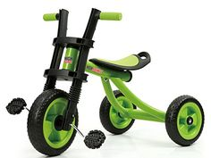 Kids' Tricycles - High Bounce Extra Tall Tricycle Ages 36 Green ** Click on the image for additional details.