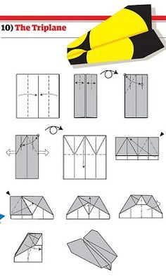 Really Cool Pics: How to Build Cool Paper Planes Wirklich coole Bilder: So bauen Sie coole Papierflieger Easy Crafts To Sell, Easy Arts And Crafts, Easy Crafts For Kids, Toddler Crafts, Paper Airplane Models, Paper Models, Paper Planes, Sand Crafts, Paper Crafts