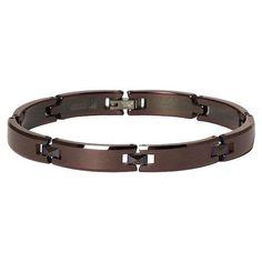 Tungsten Carbide Bracelet Espresso  8.5 in.