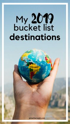 Can you guess what's on my travel bucket list for 2019? Voyager Moins Cher, Avion Pas Cher, Europe Travel Tips, Travel Guides, Places To Travel, Travel Advice, Travel Hacks, Places To Go, Amazing Destinations