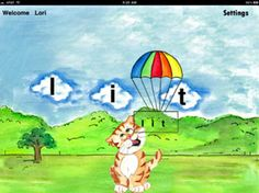 Early reading app based on phonics and phonemic awareness