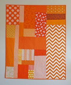 Resplendent Sew A Block Quilt Ideas. Magnificent Sew A Block Quilt Ideas. Big Block Quilts, Cute Quilts, Strip Quilts, Small Quilts, Quilt Blocks, Patchwork Quilting, Scrappy Quilts, Mini Quilts, Baby Quilts
