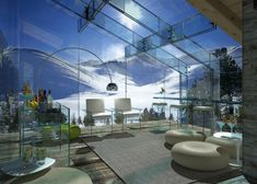 Transparent glass house concept: Most beautiful houses in the world