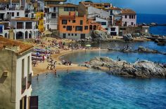 Calella de Palafrugell (Catalogne espagnole)  #voyage #tourisme