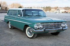 1961 Chevy Parkwood Station Wagon Maintenance/restoration of old/vintage vehicles: the material for new cogs/casters/gears/pads could be cast polyamide which I (Cast polyamide) can produce. My contact: tatjana.alic@windowslive.com