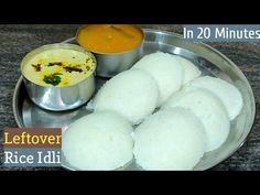 Puri Recipes, Snack Recipes, Healthy Recipes, Cooking Tips, Cooking Recipes, Idli Recipe, Leftover Rice, Tasty, Yummy Food