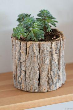 dschungel zu hause diy pflanzenst nder aus kupfer und holz zimmergarten pinterest haus. Black Bedroom Furniture Sets. Home Design Ideas