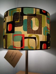 Handmade retro bold square pattern by EmporiumIllumination on Etsy
