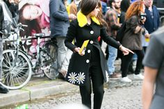 Paris Fashion Week Fall-Winter 2015/16: Street Style, Part 8