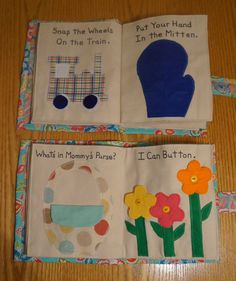 Children's Quiet Book Busy Book Activity Book by FromYamaWithLove