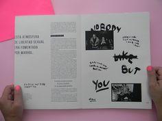 Hacedores del Mundo - Lou Reed on Editorial Design Served Editorial Design Inspiration, Editorial Layout, Graphic Design Inspiration, Magazine Layout Design, Book Design Layout, Print Layout, Print Design, Web Design, Magazin Design
