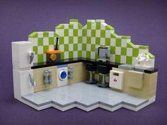 LEGO room décor & furniture designs