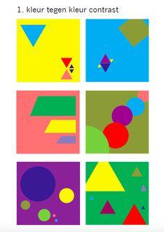 01 Kleur tegen kleur contrast
