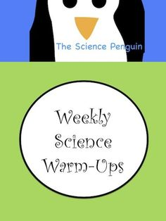 Weekly Science Warm-Ups product from The-Science-Penguin on TeachersNotebook.com