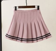 Pleated Skirt Outfit Short, Plaid Pleated Skirt, Skirt Outfits, Dress Skirt, Pastel Goth Fashion, Kawaii Fashion, Retro Outfits, Cute Outfits, Goth Skirt