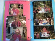 Pages 19 & 20.  Scout Family Camp Out.