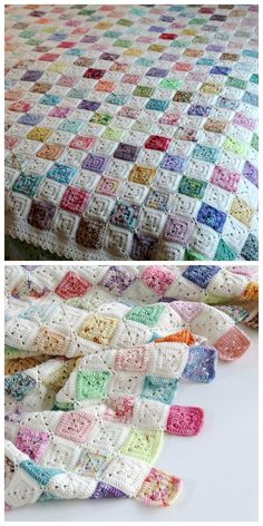 Transcendent Crochet a Solid Granny Square Ideas. Inconceivable Crochet a Solid Granny Square Ideas. Crochet Afghans, Crochet Quilt, Crochet Blocks, Afghan Crochet Patterns, Crochet Squares, Crochet Motif, Baby Blanket Crochet, Free Crochet, Crochet Baby