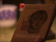 J is for the Julius Caesar book