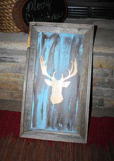 my deer silhouette