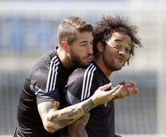 Ramos and Marcelo ⚽️