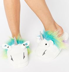 Here Are The Unicorn Slippers You've Been Looking For